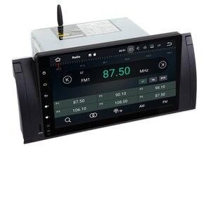 Image 2 - Radio Multimedia con GPS para coche, Radio con Android 10,0, 2 gb ROM, navegador Navi, 9 pulgadas, completamente táctil, DVD, Wifi, 3G, BT, RDS, Can bus, DVR, para BMW E53, X5, E39, 5, 97 06