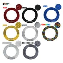 Car Decoration Sticker, Universal U Style Car Air Conditioner Vent Chrome Sticker Automotive Trim