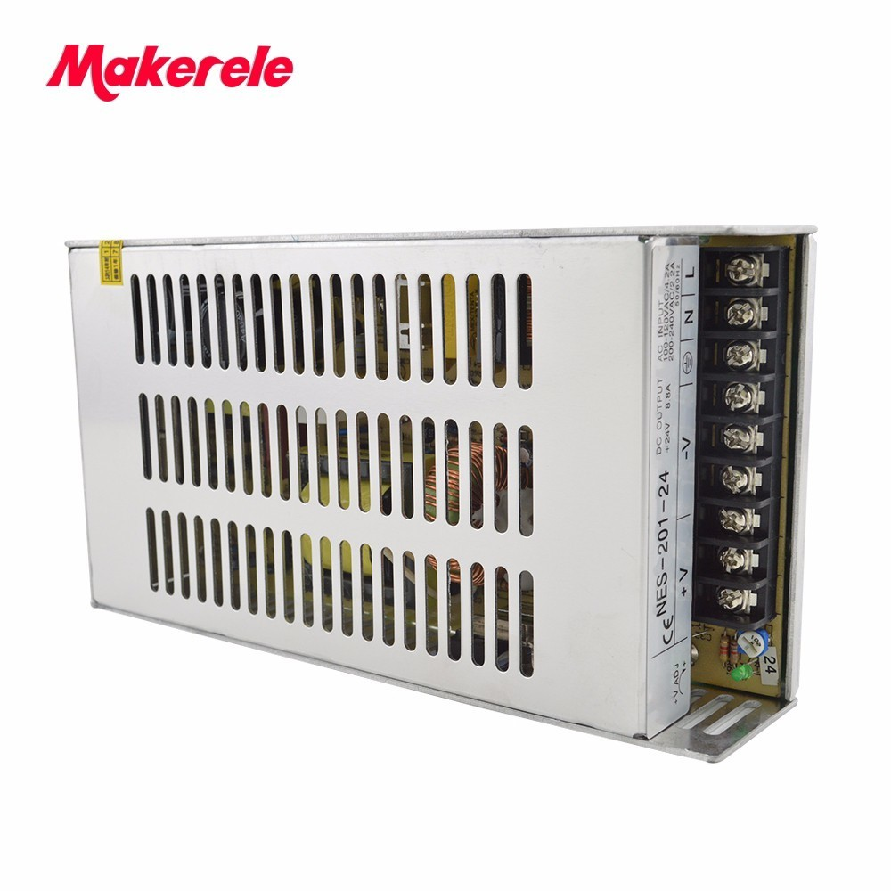 Customized power supply 200w 33v NES-200-33 6A switching power supply from china factory makerele brand 20v 1 2a power module 220v to 20v acdc direct switching power supply isolation can be customized