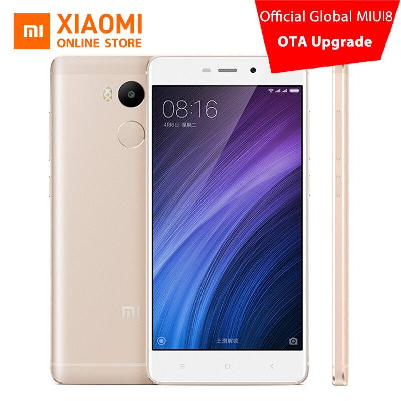 "bilder für Xiaomi Redmi 4 Pro Prime 3 GB RAM 32 GB ROM Handy Snapdragon 625 Octa-core CPU 5,0 ""FHD 13MP Kamera 4100 mah MIUI8"