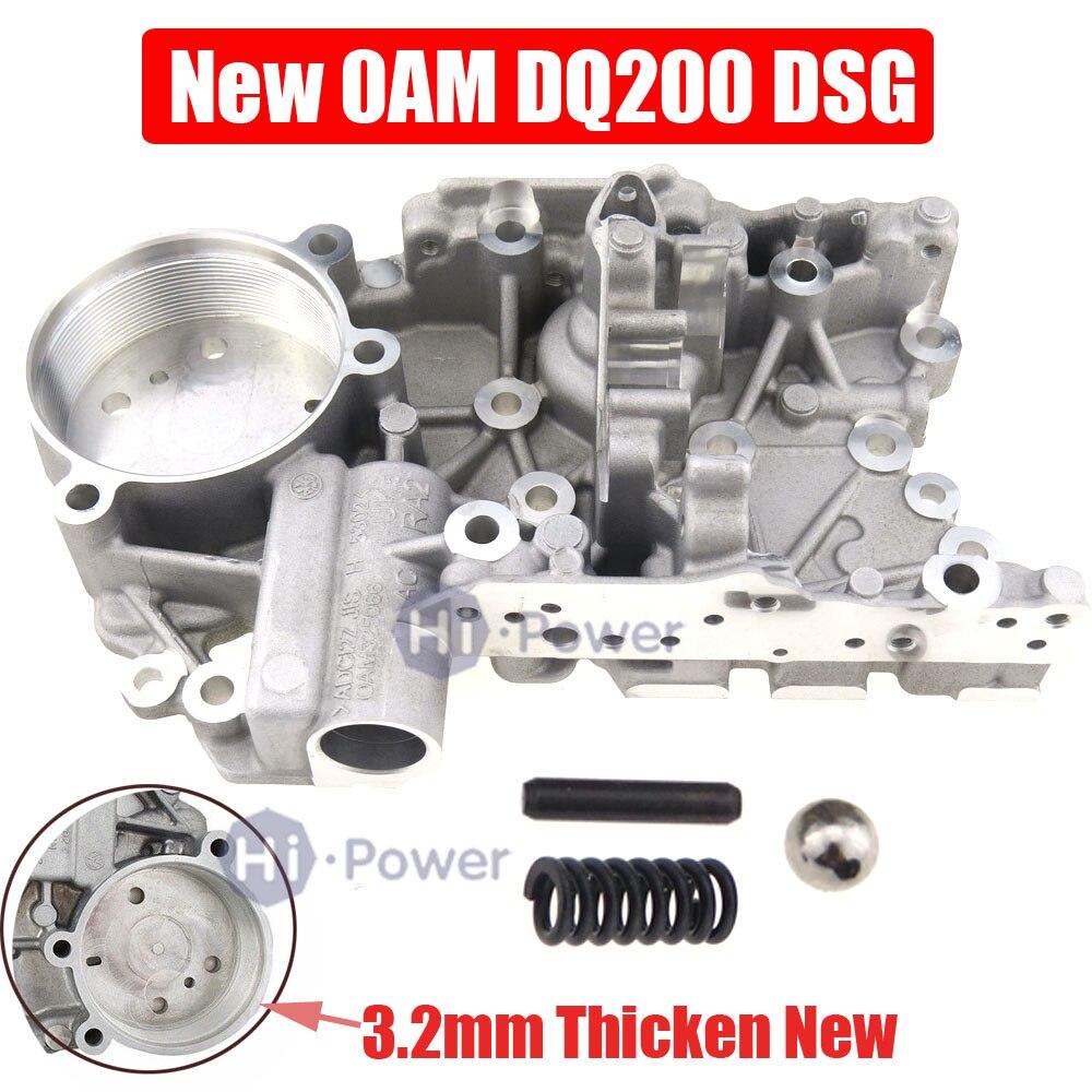 DSG DQ200 0 Perfeito Espessura 3.2 MILÍMETROS Auto Acumulador de Transmissão Habitação 0AM325066AC 0AM325066C para Audi VOLKSWAGEN