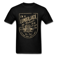 Wholesale Lumberjack Song Shirt Youth Cotton Casual Shirts Newest 100 Cotton Men Tee