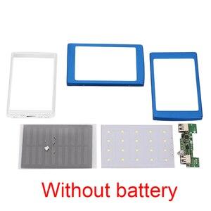 Image 5 - Dual USB LED PCBA Printplaat Solar Power Panel Home DIY Zonnepaneel Bank 18650 Batterij DIY Thuis Draagbare Oplader