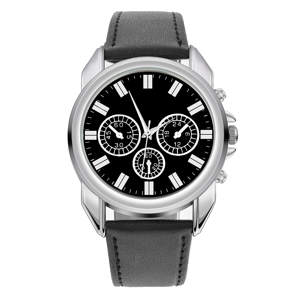 2ef98e738a991 LASPERAL 2018 Black Men Watch Gift Set Valentine s Day Multiple Time ...