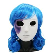 Sally Face Sally Face Smile Face Game Cosplay Latex Mask around Halloween цены онлайн