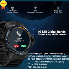 zeblaze Smart Watch 1.39 inch Pedometer Heart Rate Monitor 8MP Camera dual system 2G+16G Smartwatch Support 4G Network