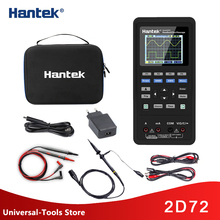 Hantek 2D72 3 in 1 Digital Oscilloscope 250MSa/S Waveform Generator Multimeter USB Portable 2 Channel 40mhz 70mhz Multifunction