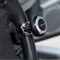 Neu! WUPP Schwarz Auto Lenkrad Knopf Power Spinner Griff Einfach Schalten Sicher DrivingCar Lenkrad Helfer Lenkung 2418
