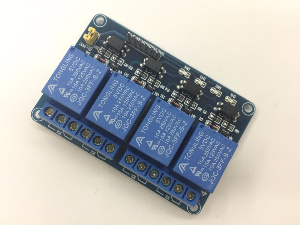 1pcs 4 channel relay module with optocoupler. Relay Output 4 way relay module for arduino In stock 5v 2 channel ir relay shield expansion board module for arduino with infrared remote controller