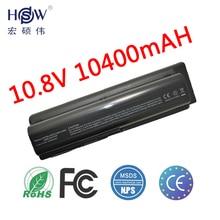 10400mah 12 Cell Laptop Battery For HP Pavilion DV4 DV5 DV6 battery HSTNN-IB72 HSTNN-LB72 HSTNN-LB73 HSTNN