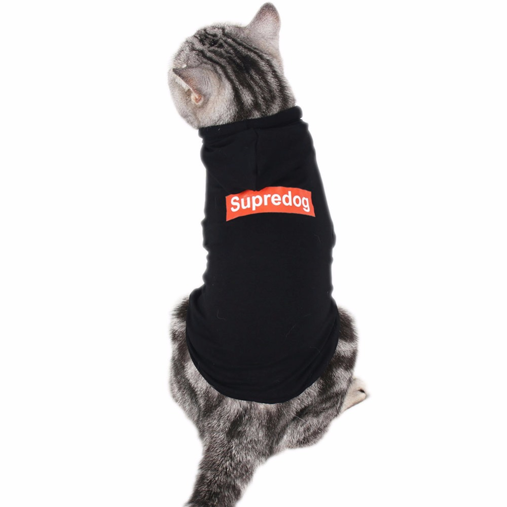 Traumdeutung Cats Clothes Hoodie Cloth Pets Costume Outfit Clothing Kitten For Small Dogs Clothes Puppy suit Yorkshire Coats