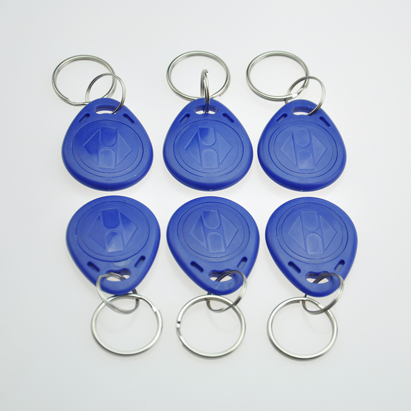 100pcs/lot Factory Price Hotel Room access control ID Keychain Abs Plastic Proximity 125khz Tag free shipping id 48 t6 megamos crypto chip 10pc lot discouted price