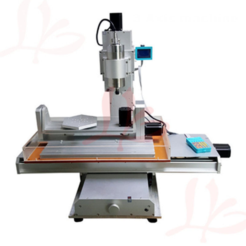 1500W spindle 5 axis cnc router cnc 3040,ball screw Table Column Type milling machine new arrival 5 axis cnc machine pillar cnc 3040 engraving machine ball screw table column type woodworking cnc router lathe