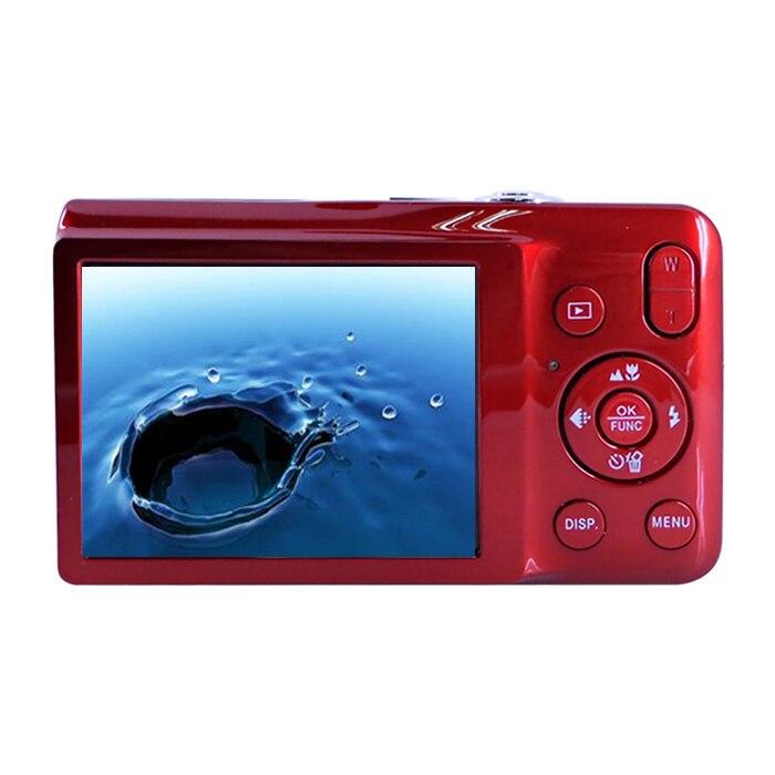 Freeshipping 15 Mega Pixel Professional Digital Cameras Compact Camera 5x Optical Zoom 2.7 Mini Cam Photo Camera Digital