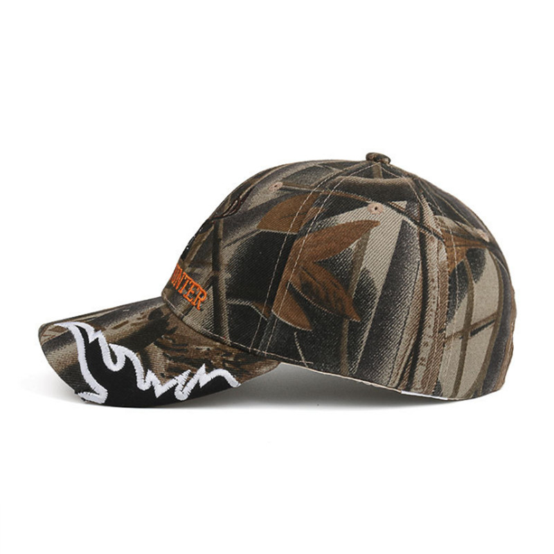 Outdoor Baseball Cap Camo Deer Head Embroidery Cap Men Hip hop Caps ... e3106c6f549