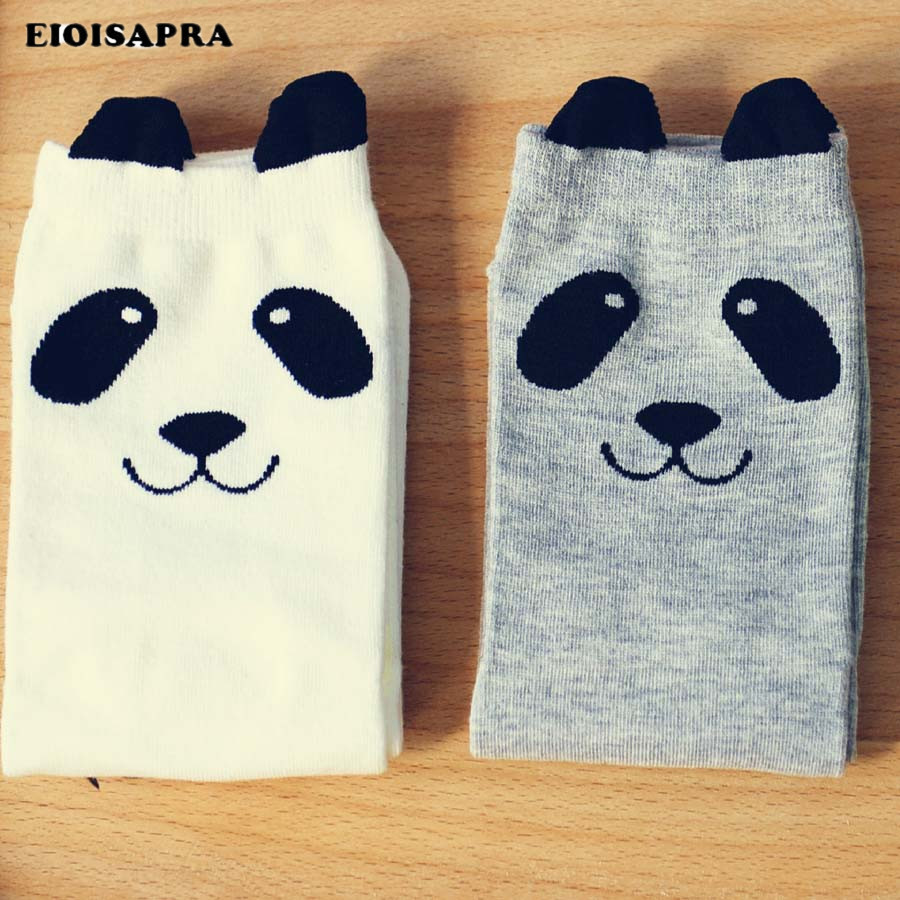 [EIOISAPRA]New Cotton Cattoon Funny Socks Femininas Warm Cute Animal Panda Korean Socks For Women Real Character Calcetines