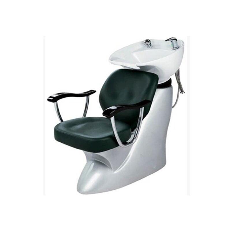 Купить с кэшбэком Sitting style hair washing chair Japanese style hair washing bed hair washing bed water washing bed hair barber shop exclusive.