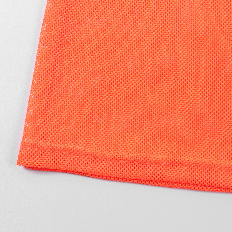 mesh loose mini dress09