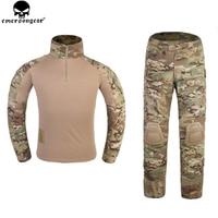 Emerson G3 Style Combat Suit for Woman Hunting Clothes Multicam Camouflage Emersongear Tactical Pants Combat Uniform EM6966