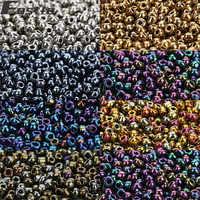 2800 teile/los Runde Glas Perlen 7 Farben Kleine Tschechische Seed Perlen Für Frauen Diy Halskette Armband Schmuck, Der Perles Berloque