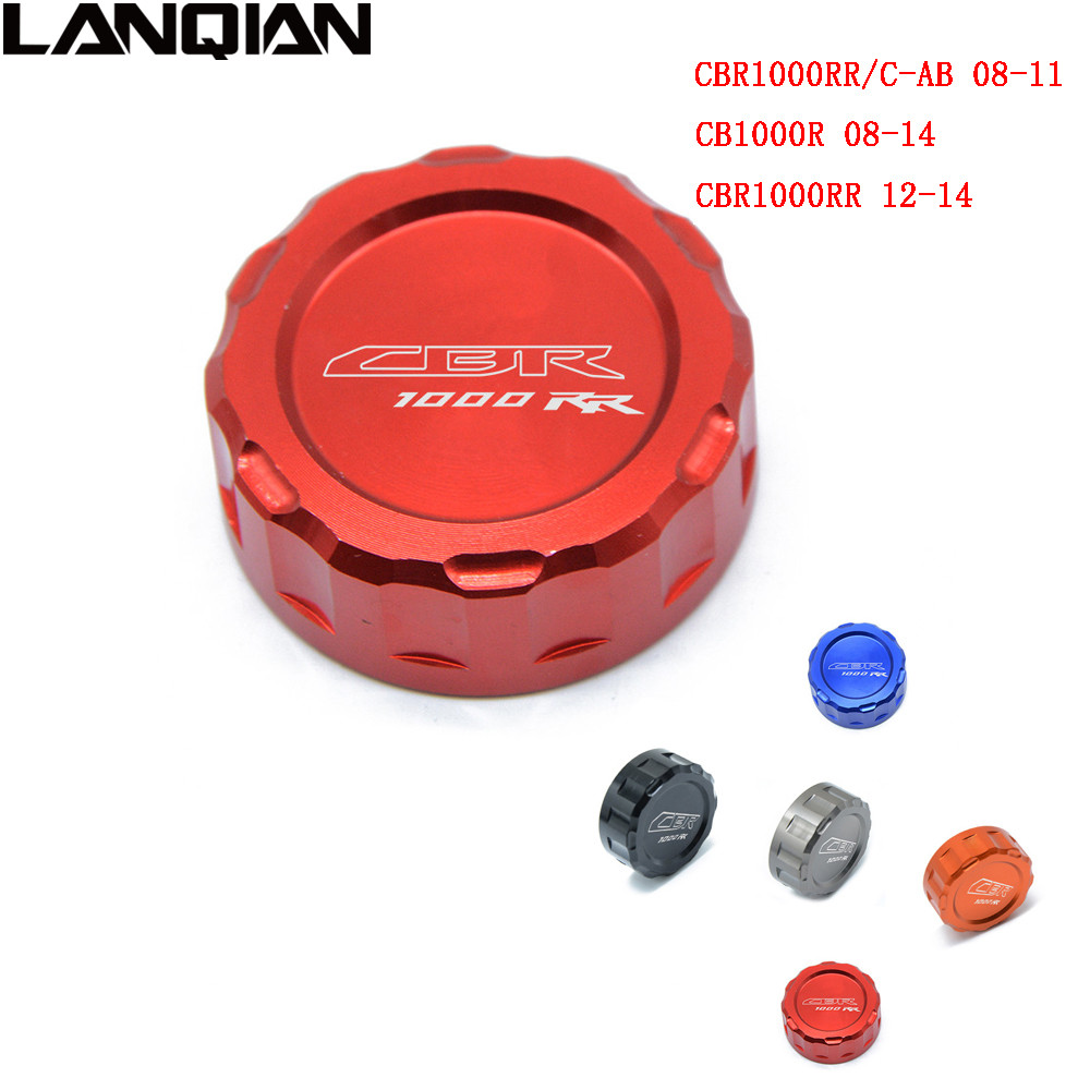 Motorcycle Filter Fluid Rear Brake Master Cylinder Oil Reservoir Cover Cap For Honda CBR 1000RR 1000 RR With CBR1000RR LOGO for honda cbr600rr 07 15 cbr1000rr 04 15 cb1000r 08 15 red motorcycle front brake master cylinder fluid reservoir cover cap