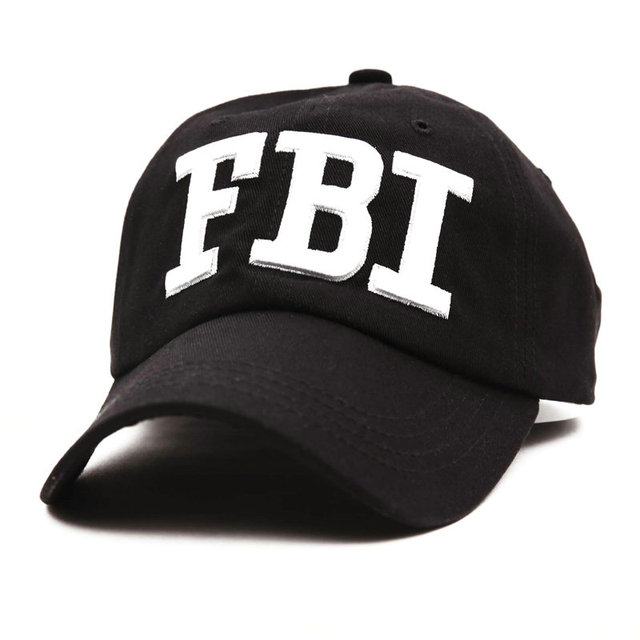 c702512c42ed3 High Quality FBI Caps 5 Panel Outdoor Snapback Cap Men Women 3D Embroidery  Logo Baseball Hat Unisex Brand Dad Hats YY213