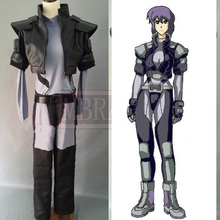 Game Anime Ghost in the Shell Kusanagi Motoko Uniform Suit Cosplay Costume Any Size