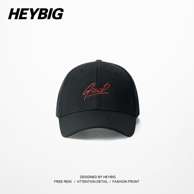 Rojo Buena bordado casquillo Divertido Papá Juventud Calle Sombrero 2016 gorras de Béisbol hiphop HEYBIG Nueva llegadas