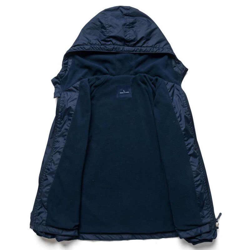 2019 детские Куртки Флисовая Куртка для мальчиков и девочек детское пальто с капюшоном ветровки спортивные куртки для мальчиков От 3 до 12 лет на весну и осень