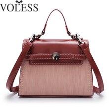 VOLESS Women Leather Handbags Fashion Designer Handbags High Quality Women Crossbody Bag Female Tote Bag Ladies Sac a Main