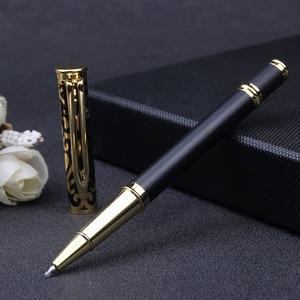 Новая Выгравированная резная металлическая Подарочная шариковая ручка рекламная акция шариковая ручка Студенческая премия офисные материалы школьные принадлежности