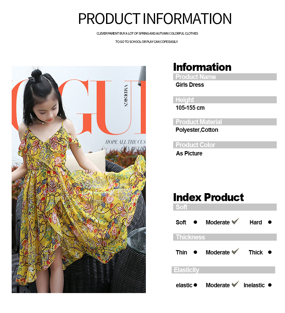 HTB1k UfbBDH8KJjy1zeq6xjepXaX - Girls Dress Bohemia Style Dresses Girls Sleeveless Floral Dress For Adolescents 8 10 12 Big Kids Girls Clothes