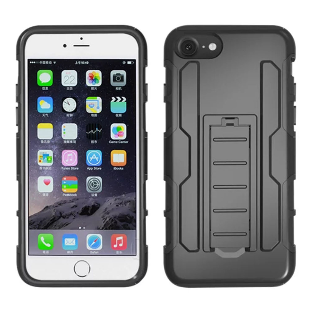 Phone Cases for iPhone 5S 6 7 6S 4S 5C SE 4 6S Plus 7 Plus Case Cover Mobile Accessories Stand Bag Holder With Belt Clip Holster