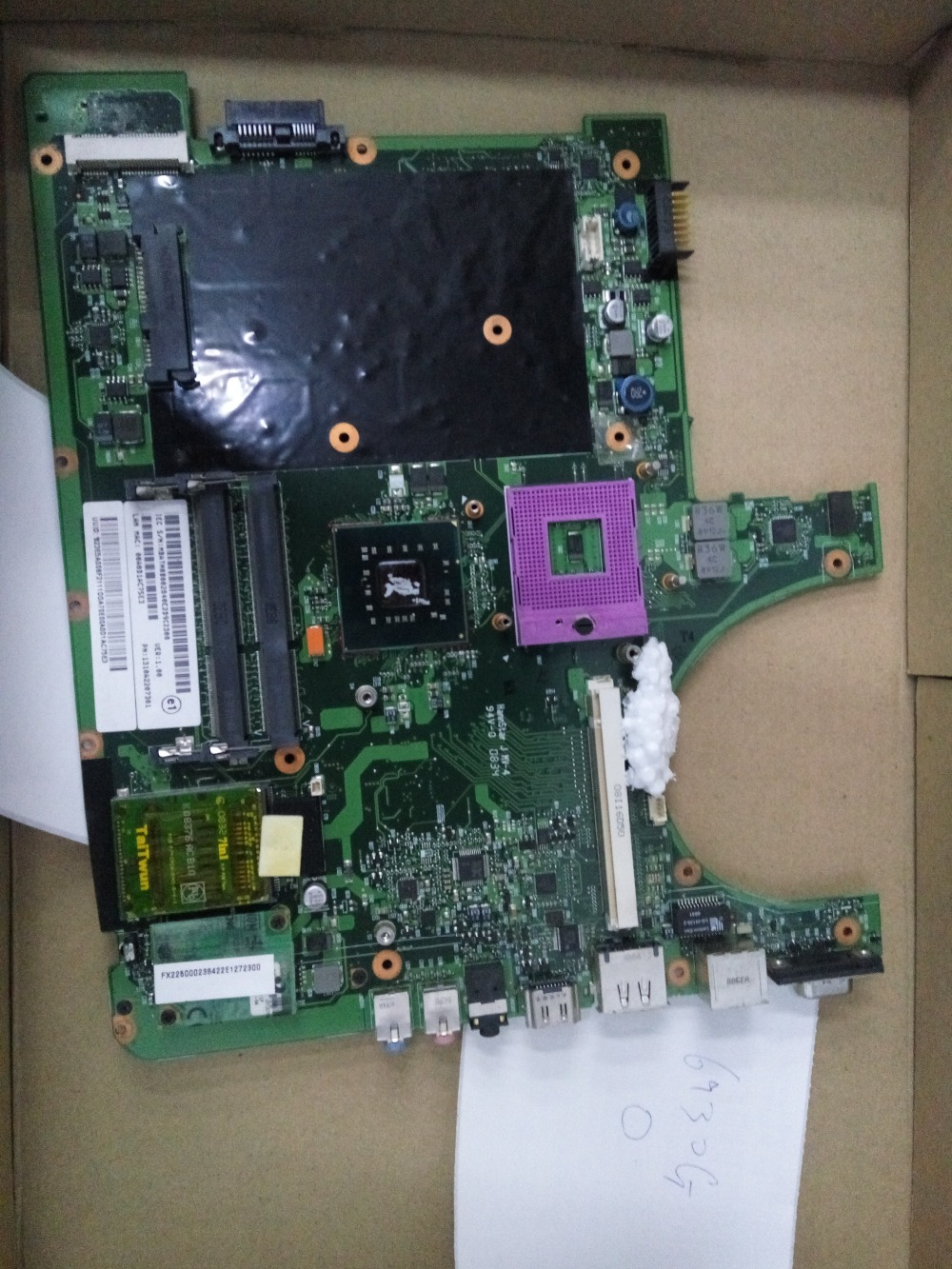 6930G AS6930G 6930 connect board connect with motherboard tested by system lap connect board g71g motherboard tested by system lap connect board page 5