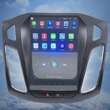 ZOYOSKII Android 10 дюймов ips вертикальный экран автомобильный gps Мультимедиа Радио bluetooth навигации плеер для ford focus салона 2012-2016