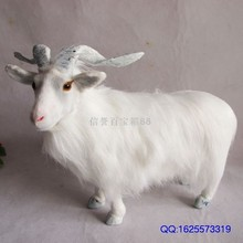 sheep, goat toy,polyethylene & furs resin model handicraft,props,decoration gift a390