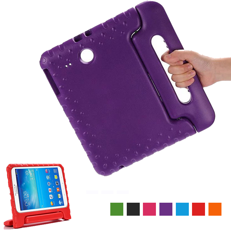 "For Samsung Tab E 9.6 Case Kids Children Silicone Cover for Samsung Galaxy Tab E 9.6"" SM-T560 T561 Shockproof EVA Tablet Case(China)"