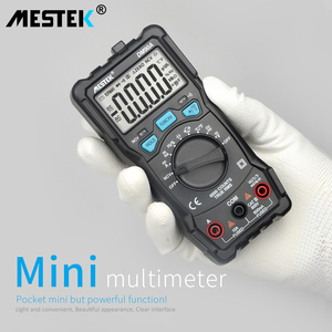 Image 2 - Multímetro inteligente automático de alta velocidade dm90a/dm90s de mestek multímetro inteligente anti queima ncv verdadeiro rms digital multimetro