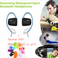 Jabees Bsport NFC Wireless Sports Bluetooth Headset Earphone Stereo Sweatproof Waterproof Swimming headphone for Running Jogging