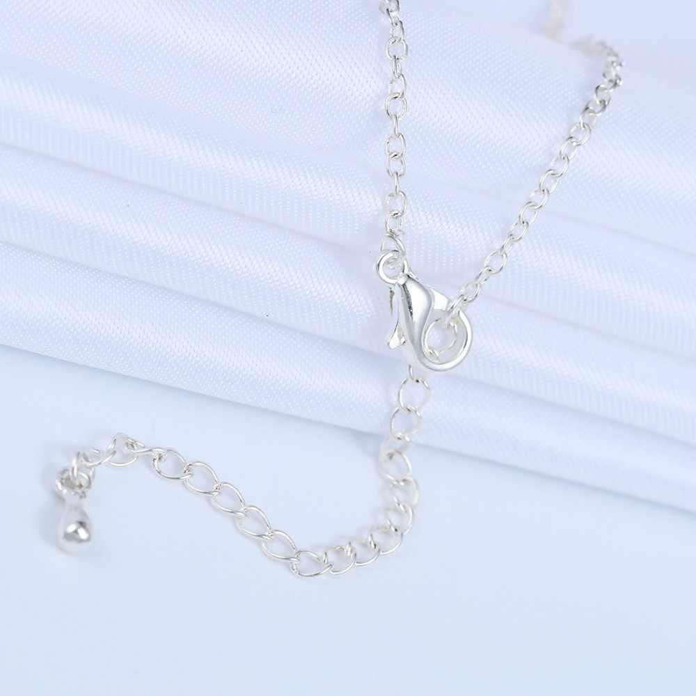 Chandler Jantung Malaikat Wing Gelang Perak Warna Emas Dove dari Peace Gelang untuk Wanita Wanita Beauty Perhiasan Sempurna Hadiah Grosir