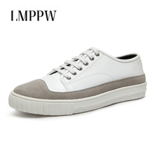 Luxury Design Men Casual Shoes Cow Suede Leather Flat Shoes White Black Lace-up Breathable Men Sneakers Fashion Comfortable 2A недорго, оригинальная цена