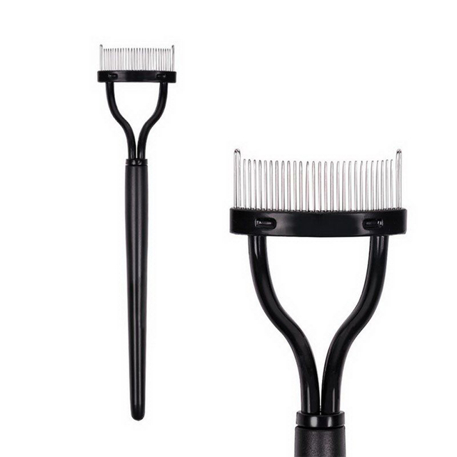 1PC New Fashion Make up Mascara Guide Applicator Eyelash Comb Curler Beauty Essential Tool Beauty Makeup Brushes