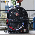 Bags Fashion Star Women Men Canvas Backpack Couple Schoolbags School Bag For girl Boy Teenagers Casual Travel bags Rucksack
