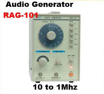 10Hz-1MHz Low Frequency Function Signal Audio Generator Producer REK RAG101 tp760 765 hz d7 0 1221a