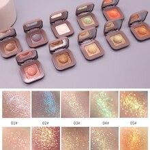 Novo 10 Colors single matte eyeshadow glitter eyeshadow Potato eye shadow Waterp