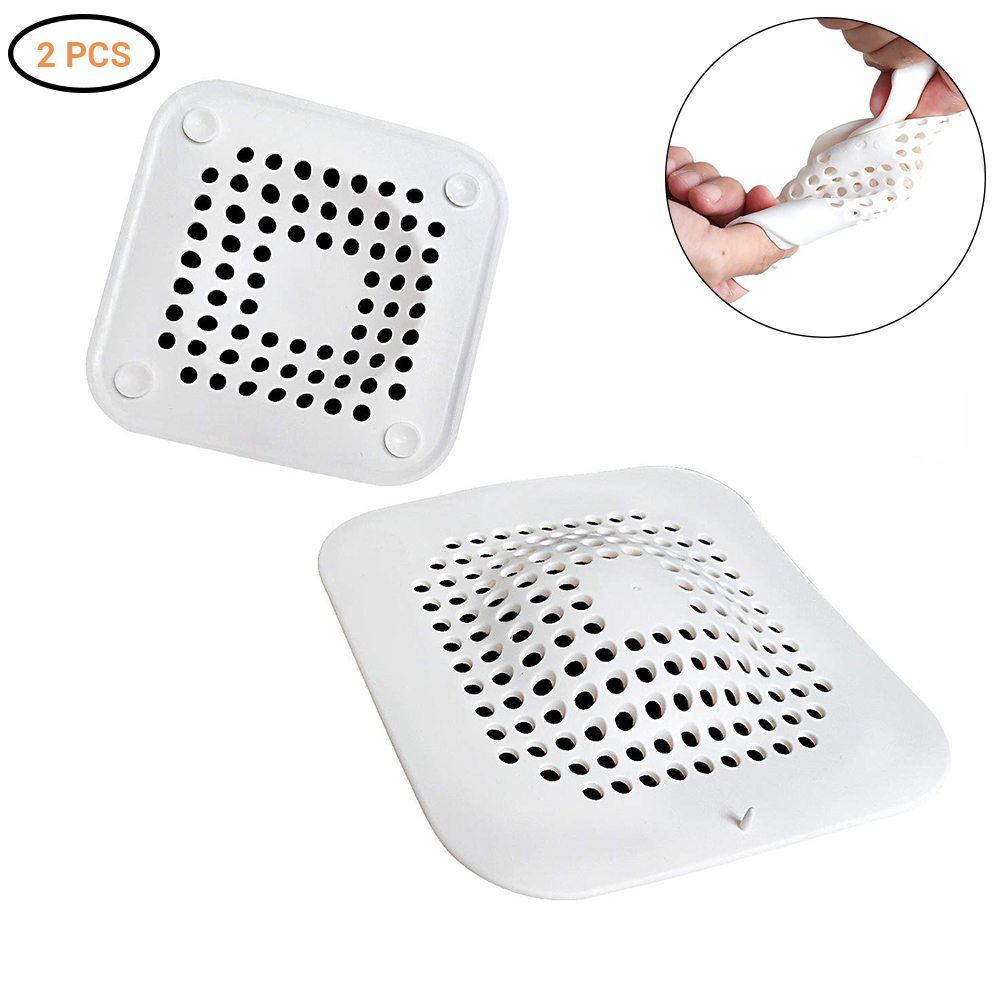 2Pcs Creative Kitchen Drains Sink Strainers Filter Sewer Drain Hair Colander Bathroom Cleaning Tool Kitchen Sink Accessories