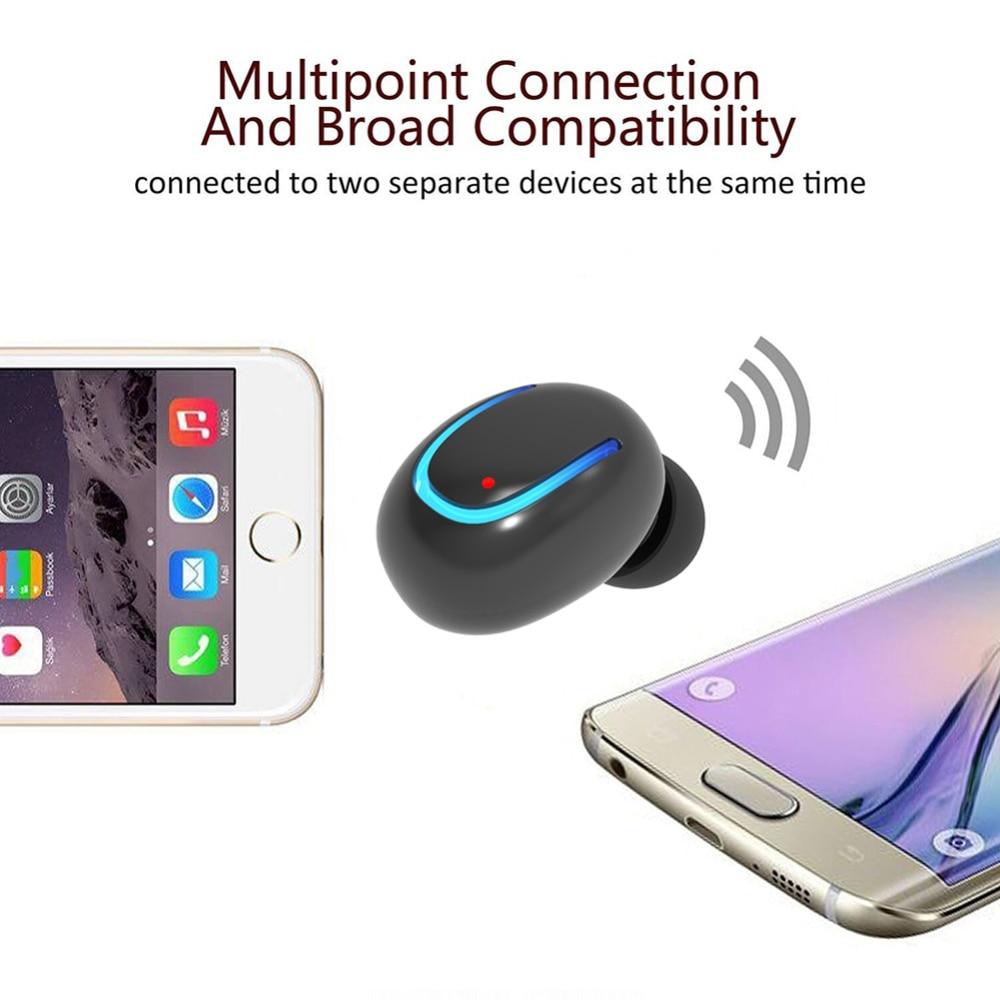 OGV Q13 mono pequeño solo auricular oculto auricular invisible micro - Audio y video portátil - foto 5