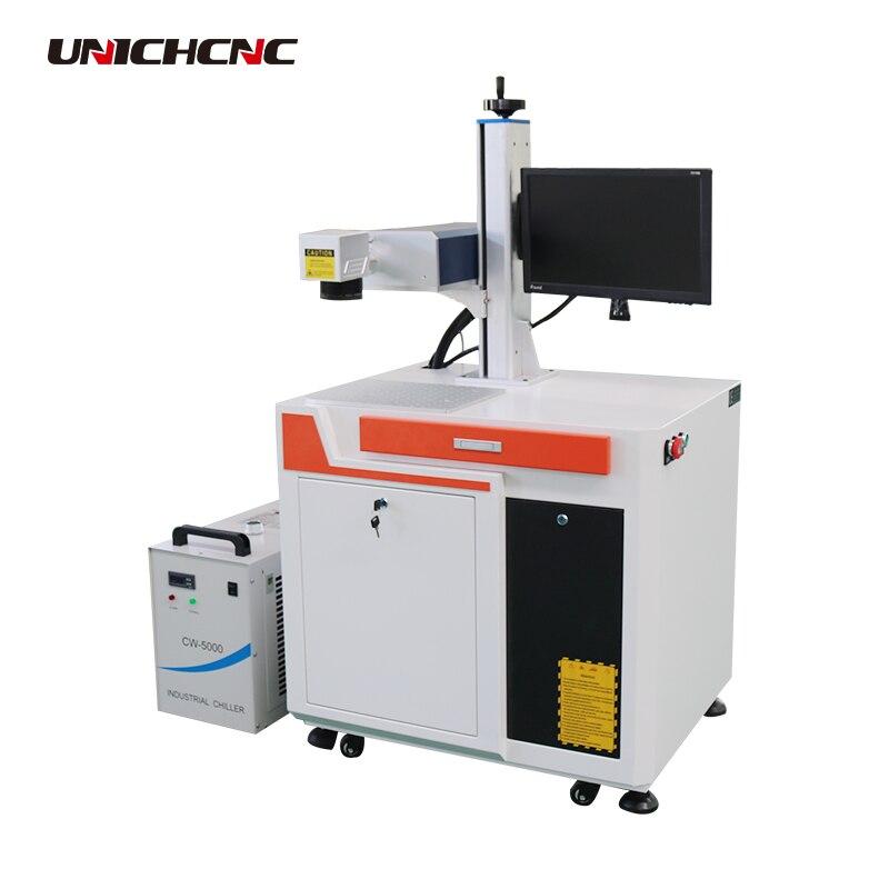 Water cooling JPT laser generator source uv laser marking machine
