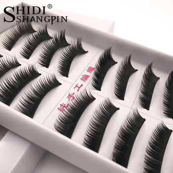 10 pairs of lashes natural false eyelashes wispy eye lashes eyelash extension makeup fake eyelashes Faux Eyelash