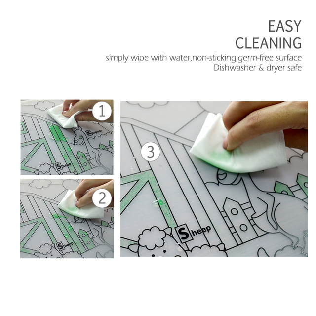 Waterproof Silicone Table Placemat